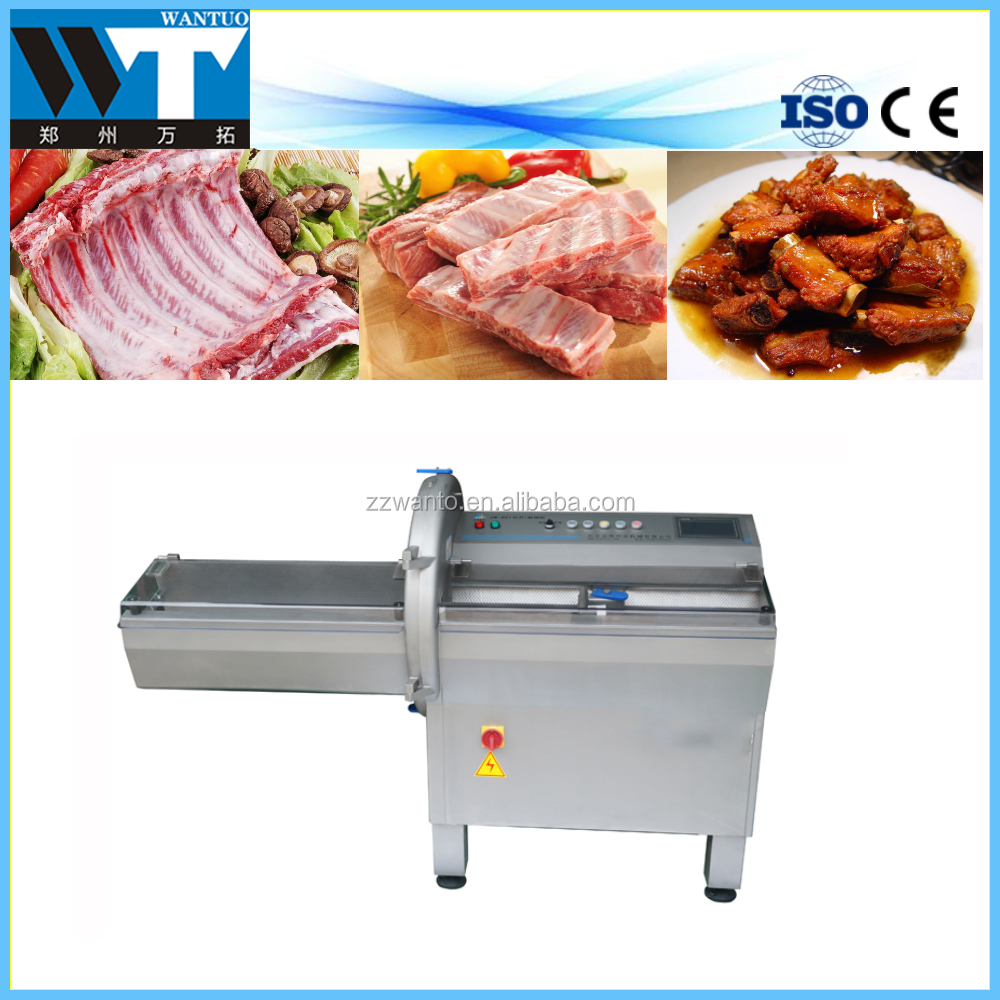 Commercial automatic beef and goat steak cutting machine