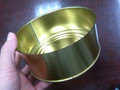 Wave bottom food Weld tin can