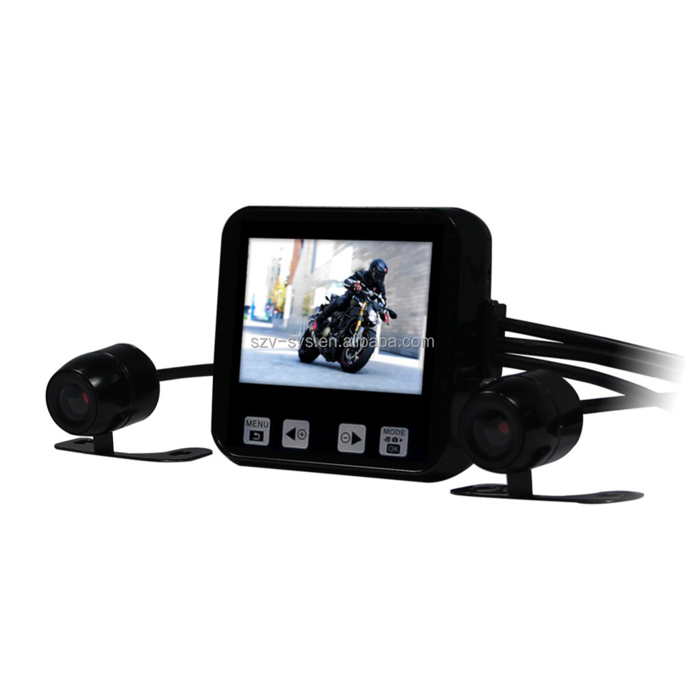 Car dash camera motorcycle sport dvr with gps tracker <strong>motorbike</strong> recorder