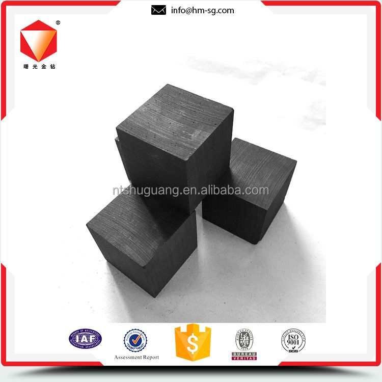High purity factory price furnace head graphite block