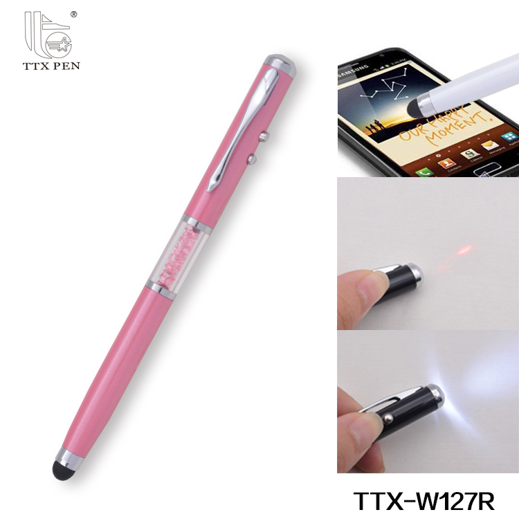 New products Promotional business pen custom metal gift pen with acrylic crystal