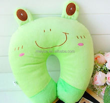 Plush U Shape Pillow Travel Pillow with Animal Toys
