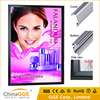 Beauty shop led illuminated sign snap frame light box for picture frame