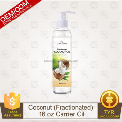 Fractionated Coconut Oil - 100% Pure Premium Grade - BIG 16Oz - Best Carrier Oil & Base For Essential Oil