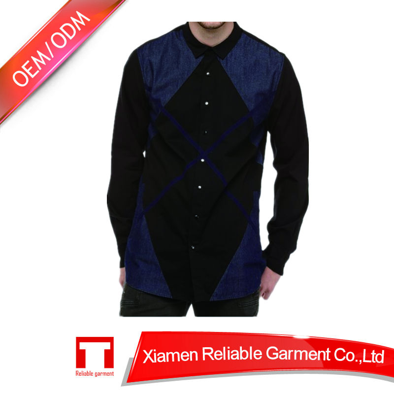 2014 the latest design 100% cotton check casual shirt for men