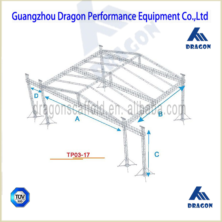 Concert Stage Roof Truss Rod Truss Tent For Sale Buy