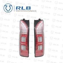 Modification red color range cover new LED tail lamp for commuter van