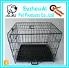 Double Door Folding Coated Steel Wire Dog Cage for Sale Cheap