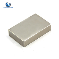 High quality strong N35 square speaker Rare earth magnet for sale
