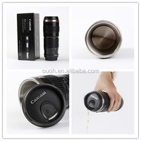 caniam logo 70-200mm 2G camera lens insulated stainless steel travel mug inserts