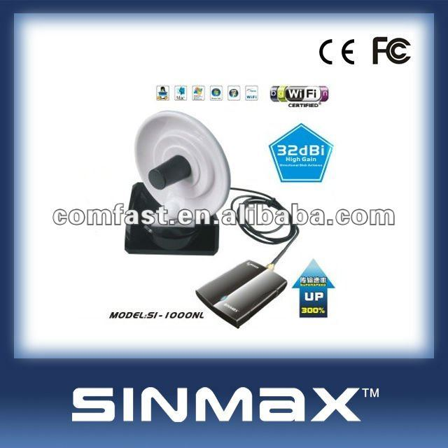 Usb wireless wifi adapter Sinmax SI-900WN wireless lan adapter