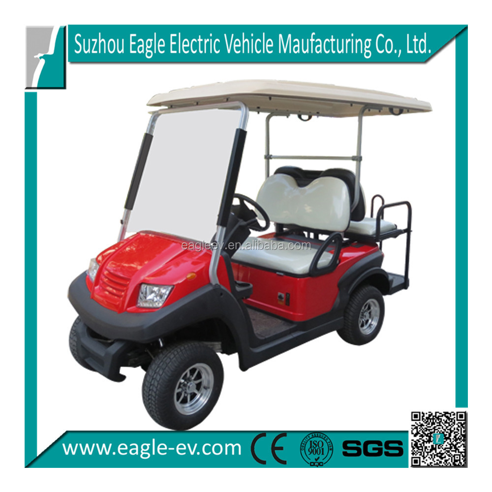 2+2 model 4 Person golf cart with flip flop seat, EG202AKSZ