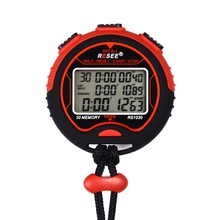 2014 new design digital led stopwatch, pedometer stopwatch