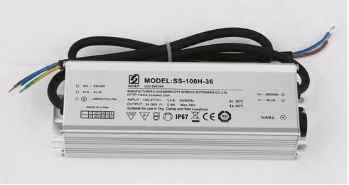 UL SAA BIS TUV CE approved dimmable 100w led power supply