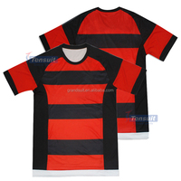 Dry fit comfortable fabric top thai quality good selling wholesale soccer jersey uniform