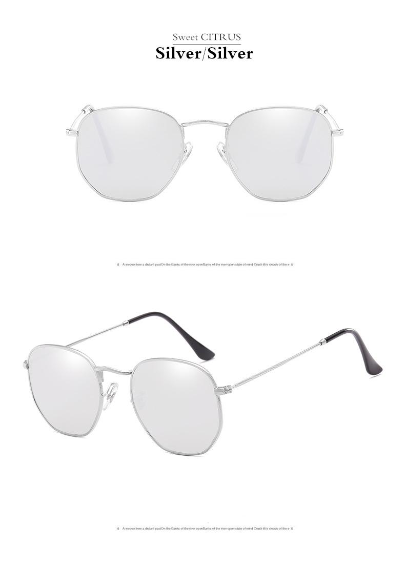 HTB1mqJvgInI8KJjSspeq6AwIpXaS - Sweet CITRUS Hexagonal Aviation Coating Mirror Flat Lens Sunglasses Men Brand Designer Vintage Pink Driving Sun Glasses Women