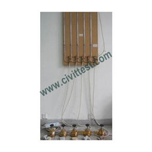 soil Falling Head Permeability Test Machine Water pipe stand Set