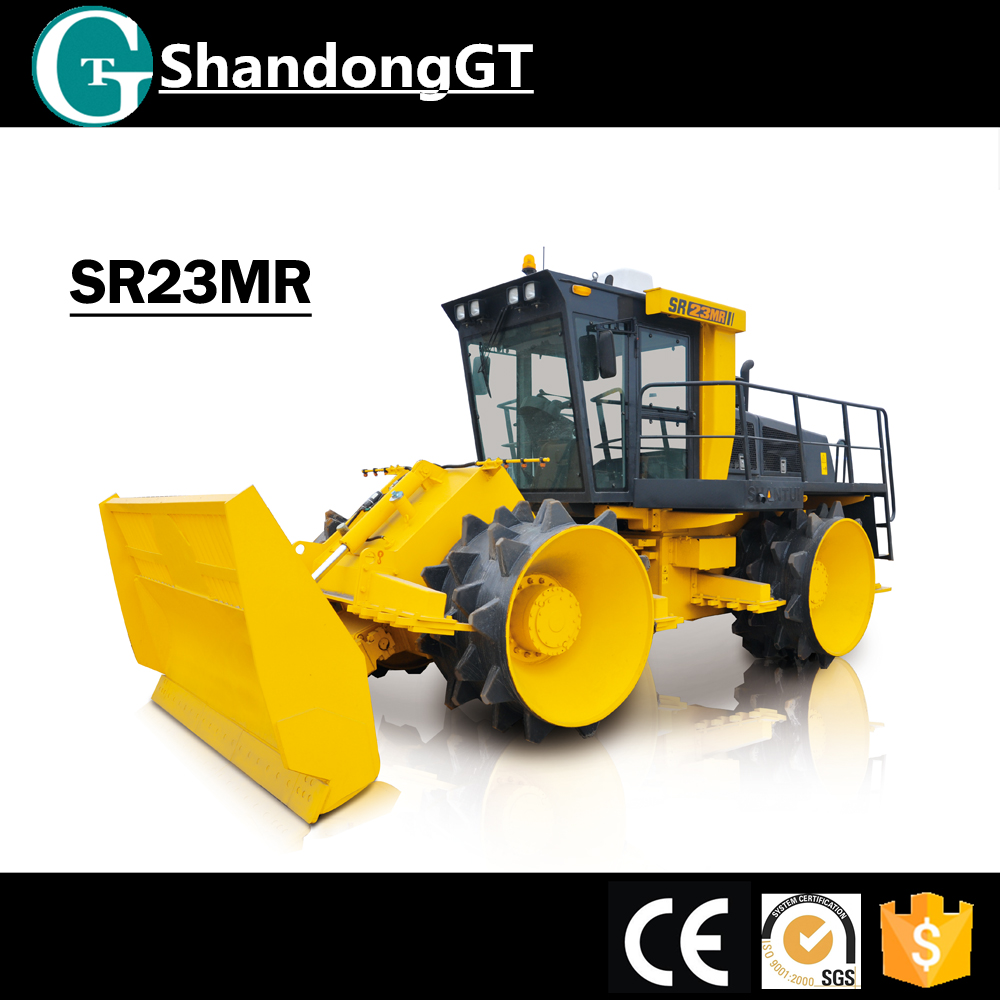 China Top Brand SHANTUI SR23MR 23Ton Landfill Compactors