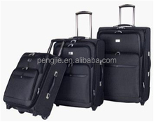 four wheels new fashionable colorful hard shell luggage