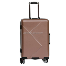 customized eminent aluminum frame hand luggage for travel
