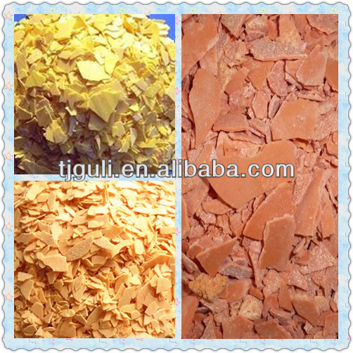 60% red and yellowsodium polysulphide flakes Na2S