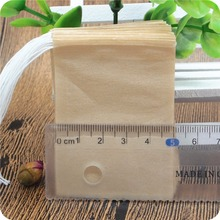 5*7 CM empty tea bags unbleached with string and tag wholesale for 20000pcs