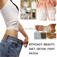 Beauty gold relax detox foot patch
