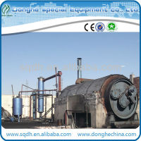 Waste plastic recycling machine with CE and ISO waste plastic pyrolysis oil plant