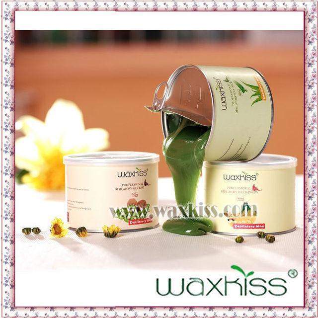 14.3oz Guangzhou tea tree liposoluble soft depilatory hair removal wax