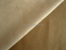 100% polyester in-stock fabric/suede stock lot