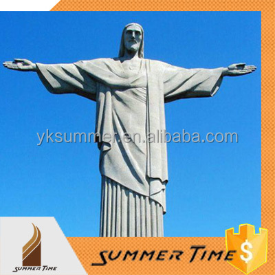 Famous building sculpture Jesus