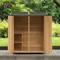 Custom natural handmade garden wooden shed