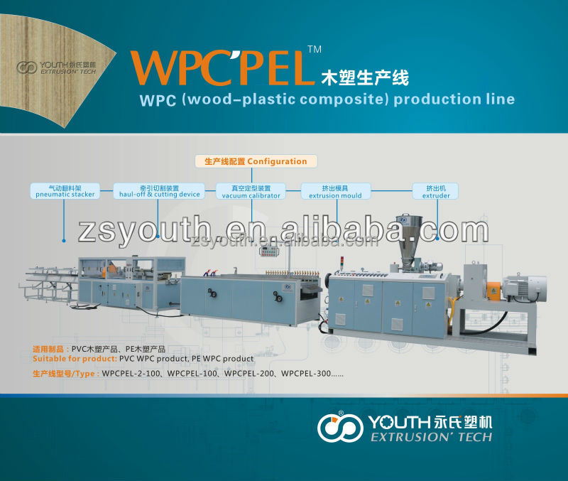 upvc profile extruders