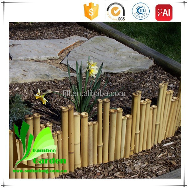 Mur de bambou en plein air jardin bordure cl ture cl tures for Bordure de jardin en bambou
