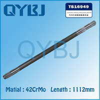 High quality truck axle, China heat treatment toyota corolla front axle shaft, Hot product Chinese make cv joint drive shaft