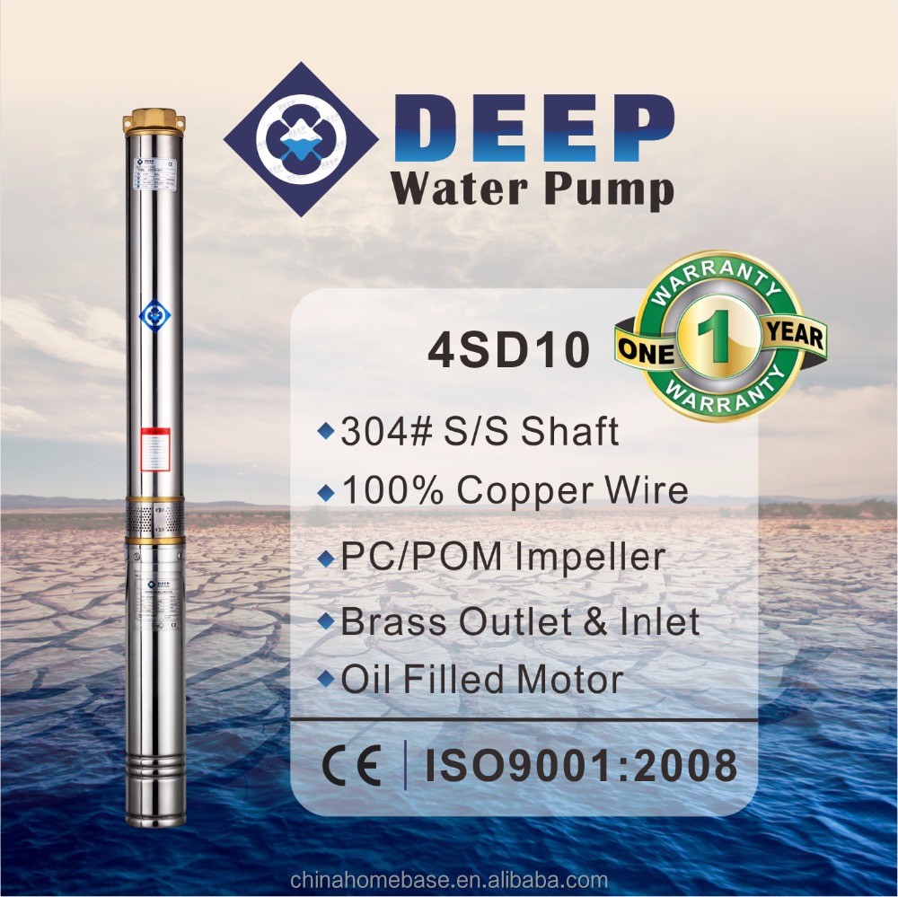 4SD10 High Quality best submersible pumps brands electric water pump Italian submersible pump
