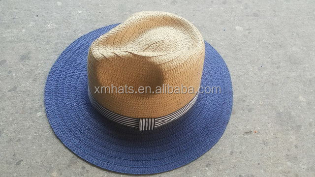 Made in Zhejiang China special discount raffia straw panama hat