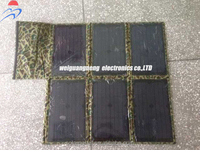 60W/18v mono solar panel+USB small solar cell for mobile phone battery charger