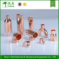 Full size air conditioner copper pipe fittings
