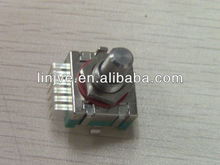 IP67 rating,6 pins 10detents 18mm rotary encoder for tractor meter