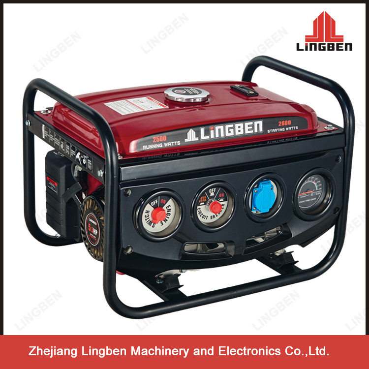 Lingben Zongshen Mini 4-Stroke General Gasoline Generator Air Cooled Spare Parts LB2600DXE-B1