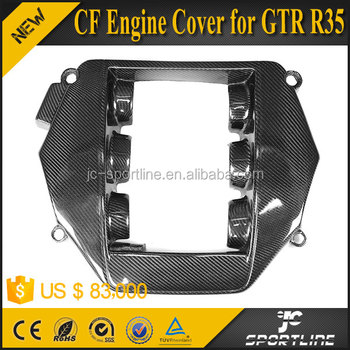VR38 Carbon Fiber GTR Car Engine Cover for GTR R35 08-15