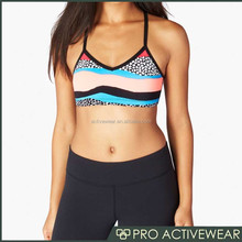 New arrival bra women,athletic bra mesh insert pad ,with great price bra customize