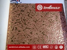 Wellmax Elegant Floral Vines Non-woven Hand Made Metallic Foil Wallpaper