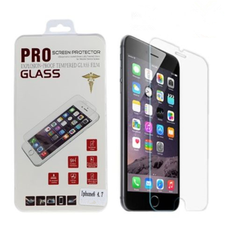 "100 Sets DHL Fast Ship Tempered Glass Phone Screen Protector Protective Film For <strong>iPhone</strong> 6 6S 4.7"" Retail Package & Clean Tools"