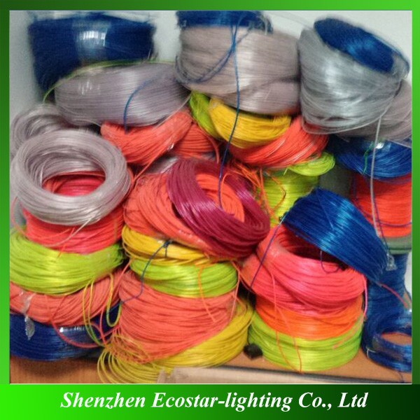 Customized el wire wholesale flashing el wire manufacturer
