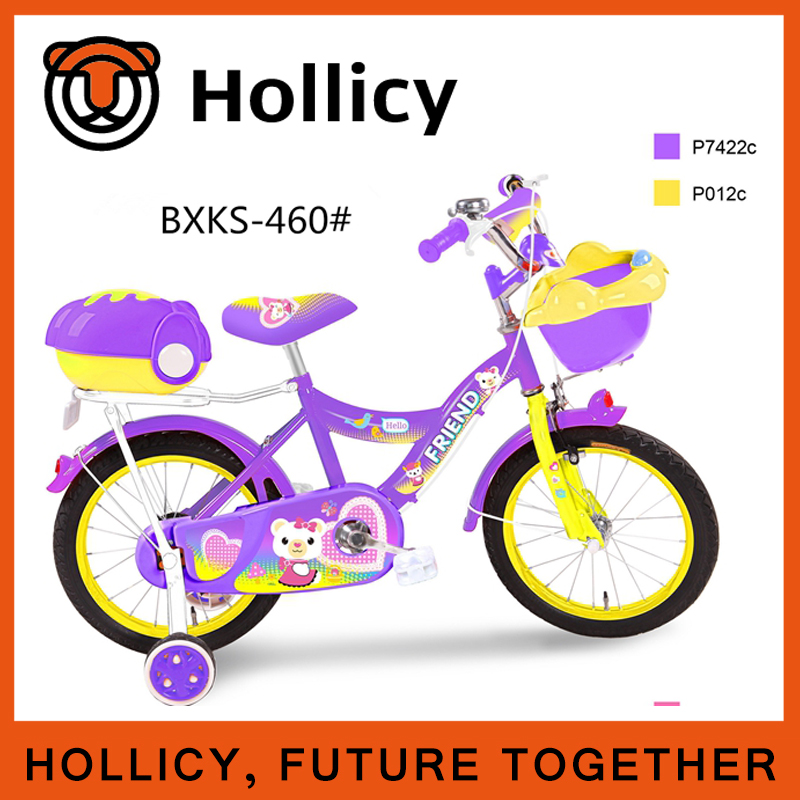 New style children bicycle with Training Wheels kids bicycle children bike baby bike kids cykel hollicy