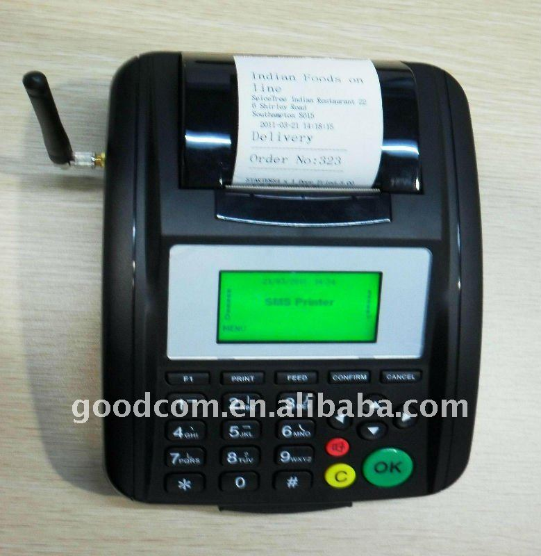 Low GPRS Data Used Thermal Printer for Cab Tax Delivery