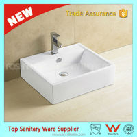item 8124 ovs foshan bathroom sanitary ware ceramic table top basins