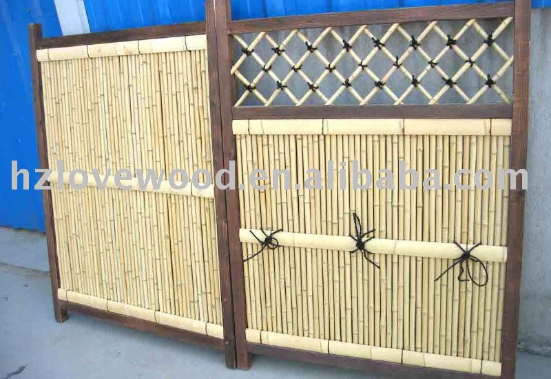 Bamboo Fence Lattice